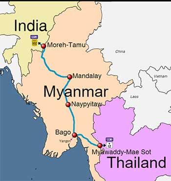 भारत म्यांमार और थाईलैंड त्रिपक्षीय ...